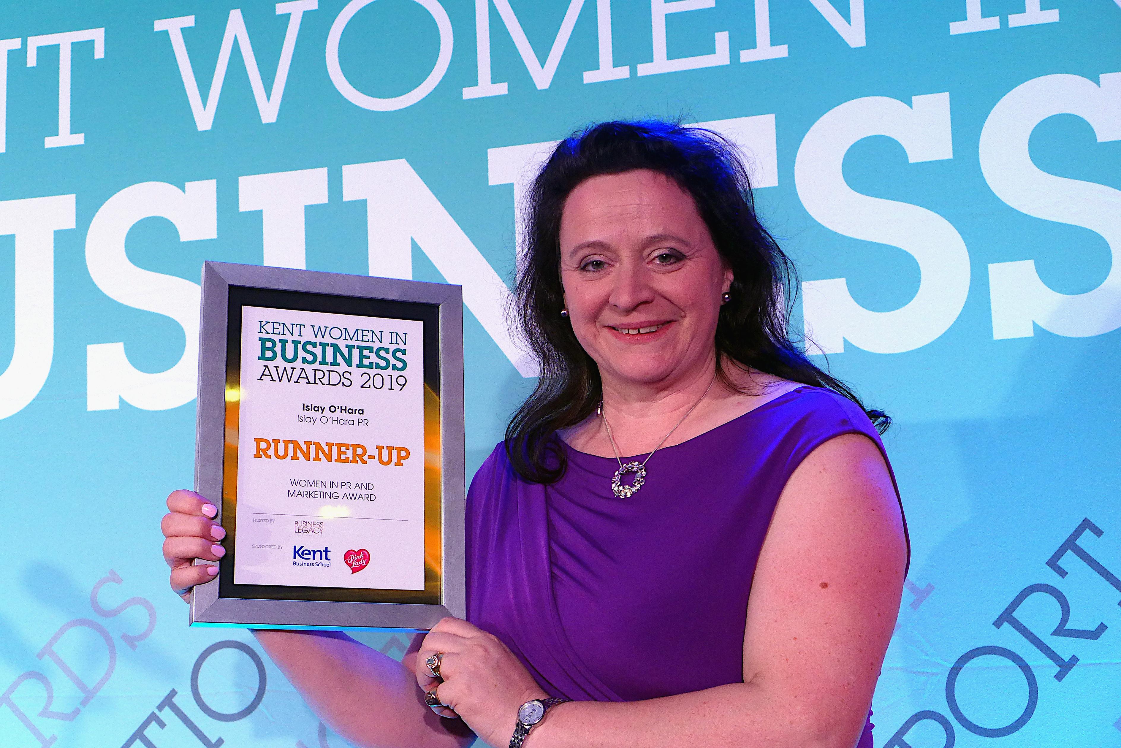 KWIB PR award runner-up